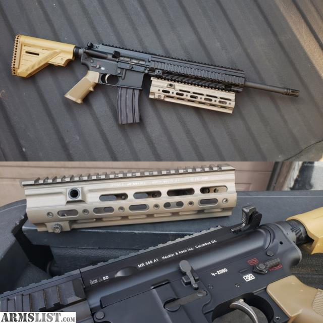 For Sale: HK 416d / MR556