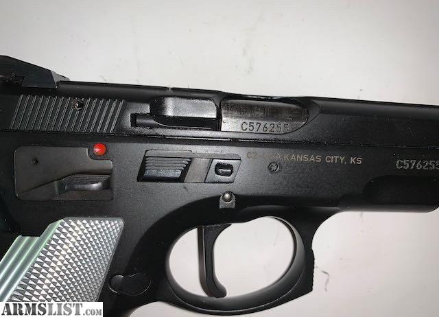 ARMSLIST - For Sale: CZ-USA 75B 9mm Pistol