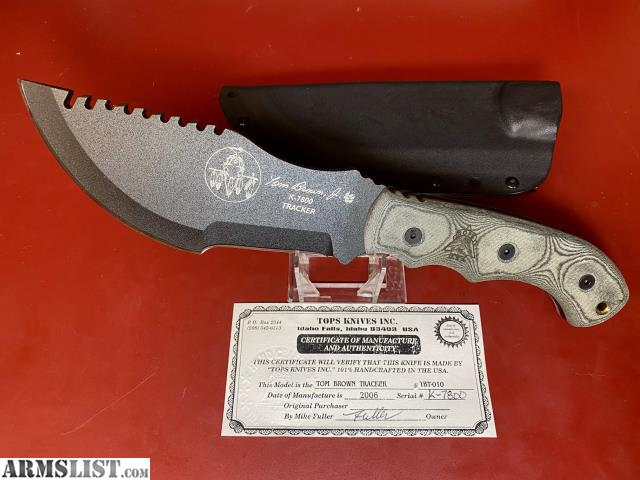 Armslist For Sale Tops Tom Brown Tracker Tactical Knife