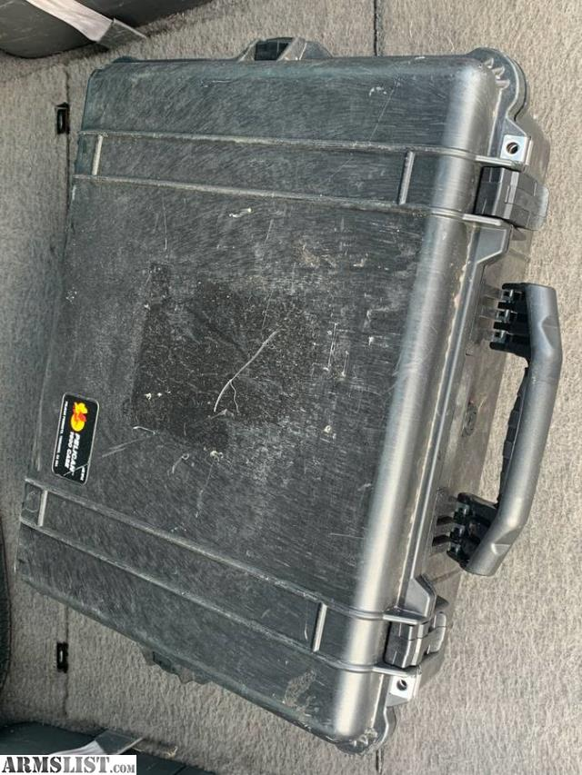 ARMSLIST - For Sale: Pelican 1600 Protector hard case with ...