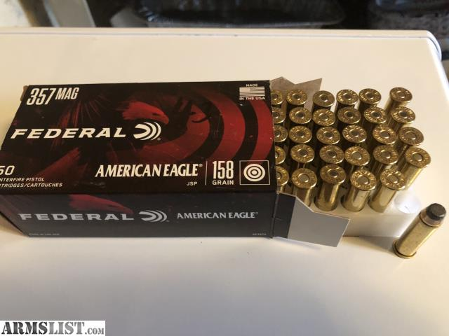 ARMSLIST - For Sale: 357 AMMO