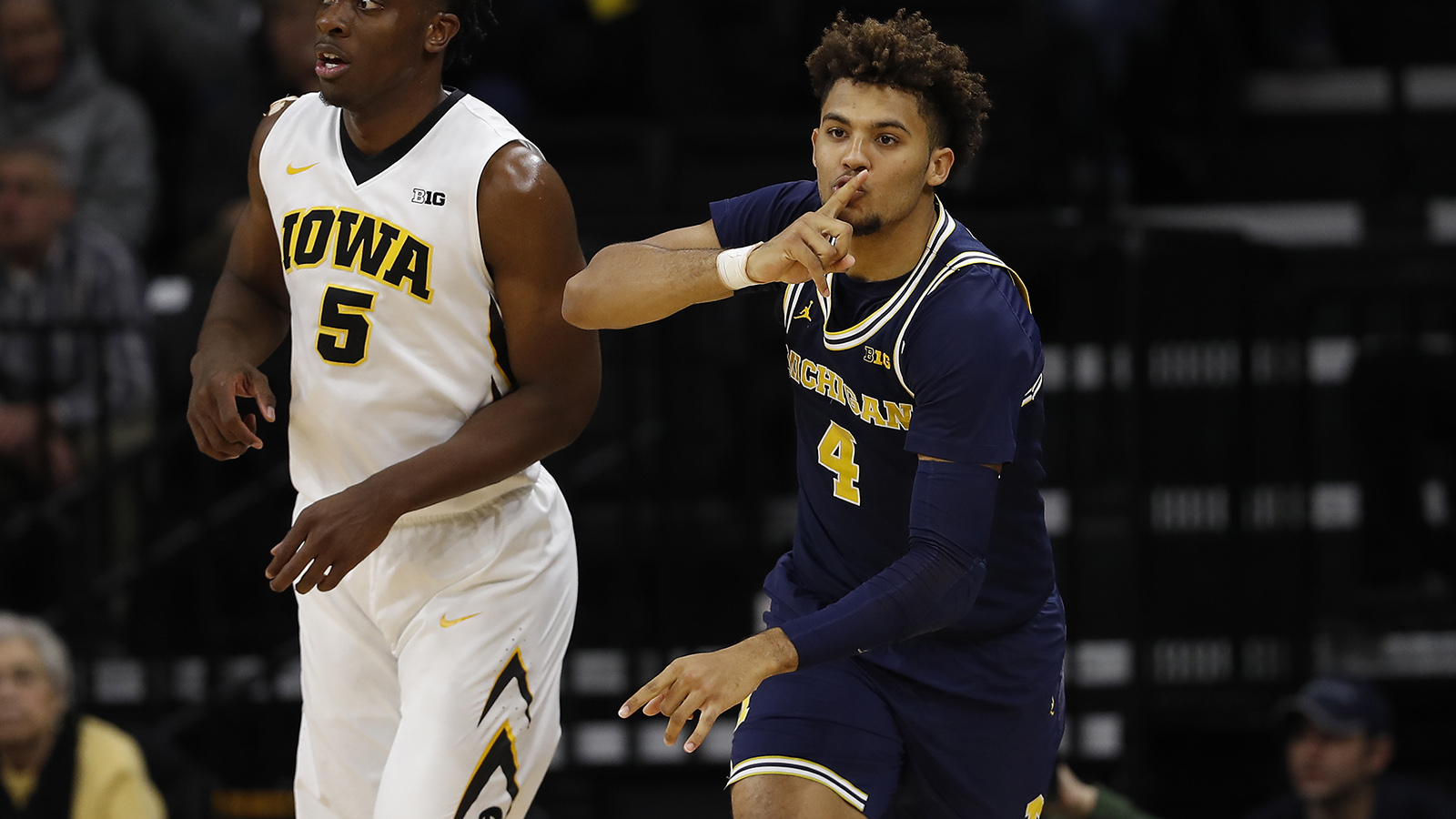 Wolverines Kick Off New Year with Big Ten Road Win at Iowa ...