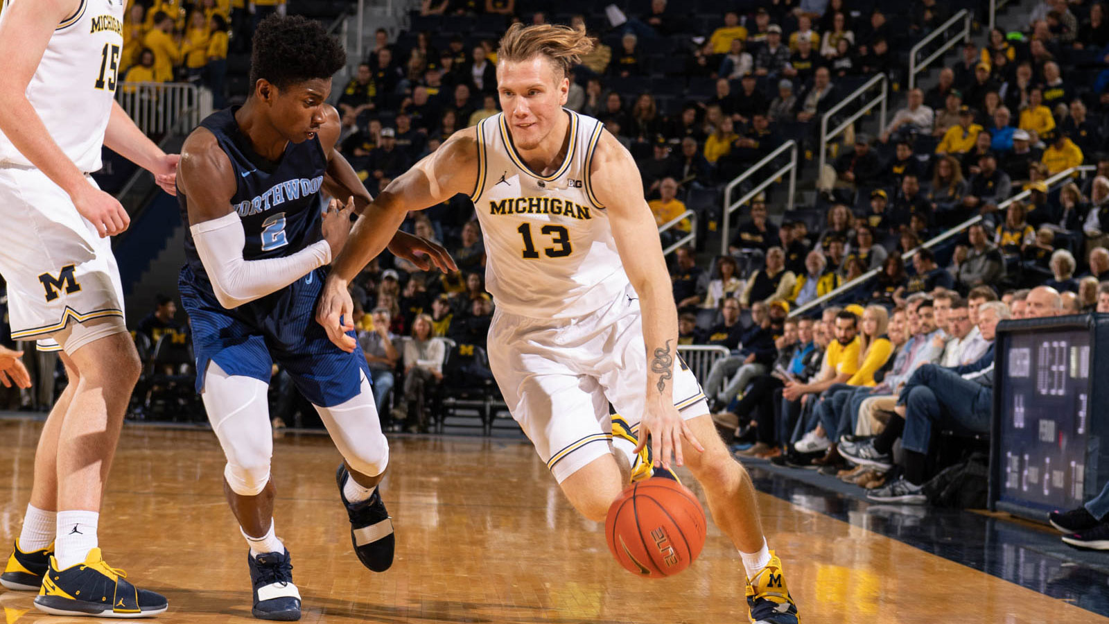 Wolverines Cruise To Exhibition Victory Over Northwood University