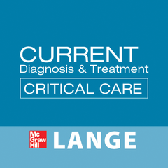 CURRENT Diagnosis & Treatment Critical Care