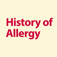 History of Allergy