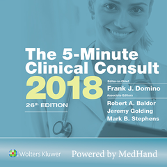 The 5-Minute Clinical Consult 2018