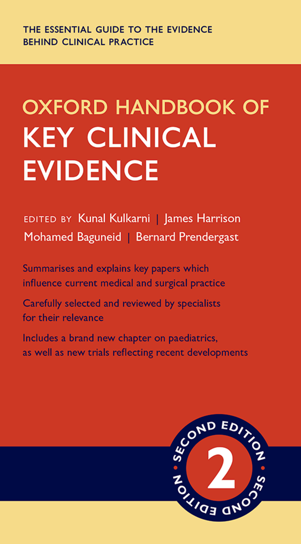 Oxford Handbook of Key Clinical Evidence, free version