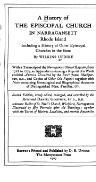 History of the Episcopal Church in Narragansett, RI., Vol.2, 1907
