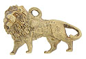 The king of beasts is delightfully presented here as a 9K yellow gold charm