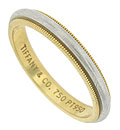 This classic wedding band is a study in simple elegance