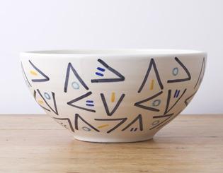 BLAS #1 Ensaladera de cerámica amarilla