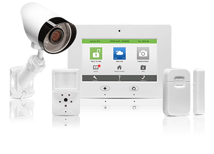 Frontpoint home security equipment