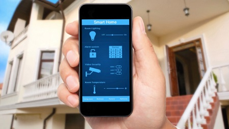 Home Security Systems Using Cell Phones