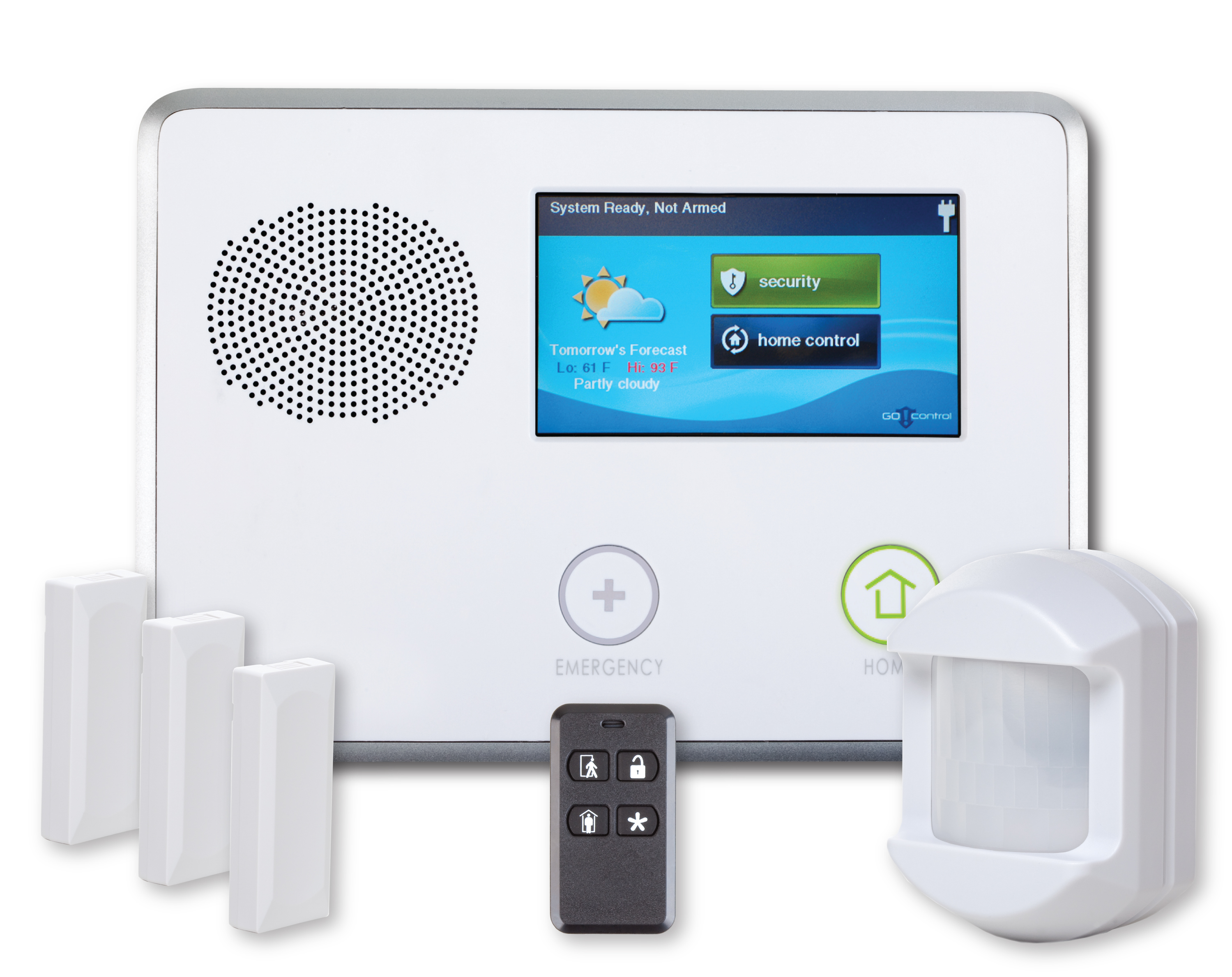 LifeShield Home Security equipment