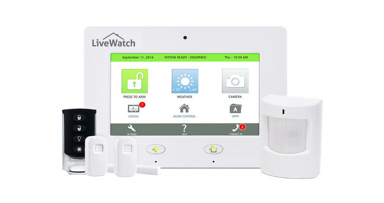LiveWatch Plug and Protect home security system