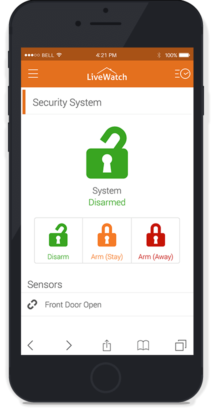 livewatch home security app