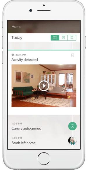 Canary App Screen
