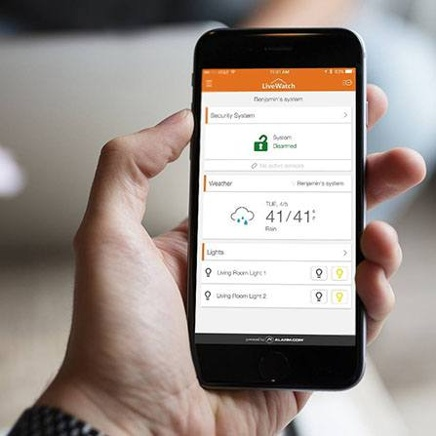 LiveWatch phone security monitoring