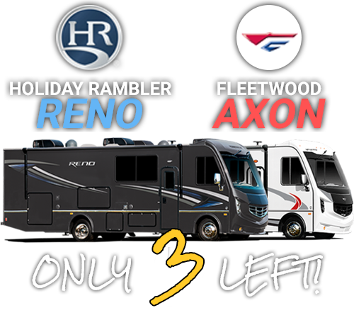 Fleetwood Axon & Holiday Rambler Reno