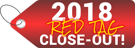 2018 Model Red Tag Close-out
