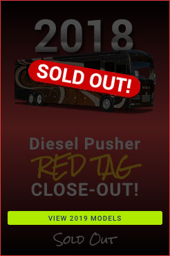 2018 Clearance Diesel Pusher