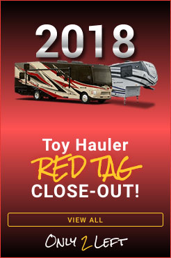 2018 Clearance Toy Hauler
