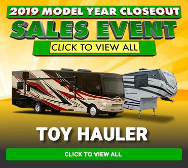 Spring 2019 Models Toy Hauler