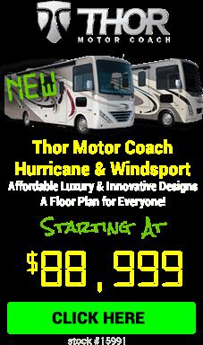 Cyber Specials Thor Motor Coach Hurricane & Windsport
