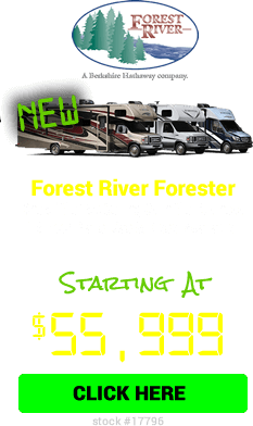 Cyber Specials Forest River Forester