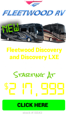Cyber Specials Fleetwood Discovery & Discovery LXE