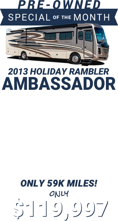 2013 Holiday Rambler Ambassador