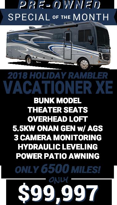 2018 Holiday Rambler Vacationer