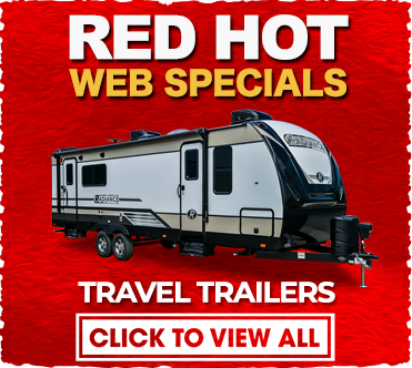 Red Hot Web Specials Travel Trailers