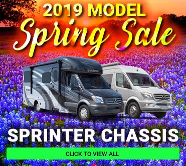 Spring 2019 Models Sprinter Chassis