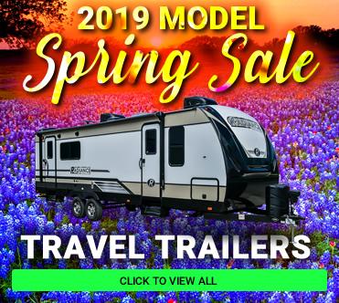 Spring 2019 Models Travel Trailers