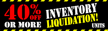 40 Percent Off Inventory Liquidation