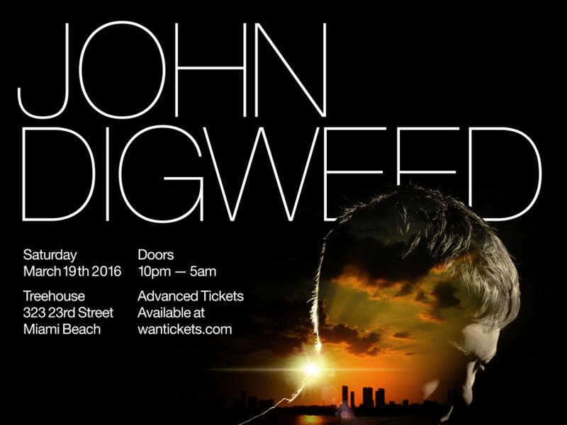 John Digweed @ Treehouse