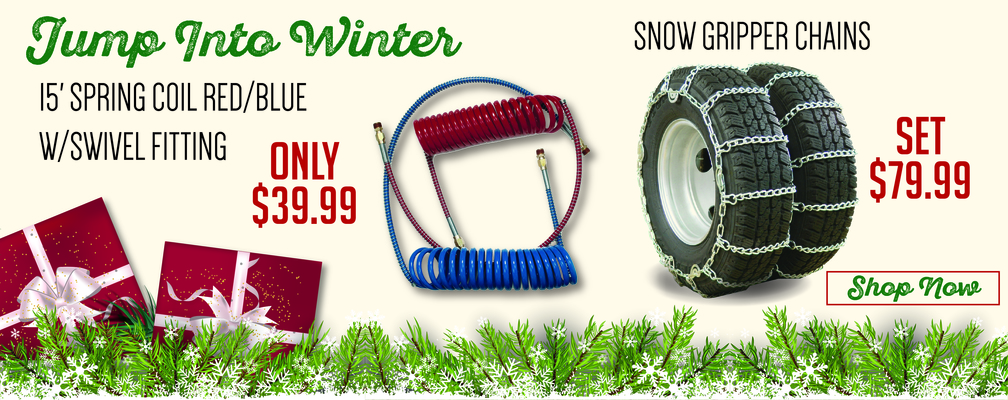 Winter is coming snow chains