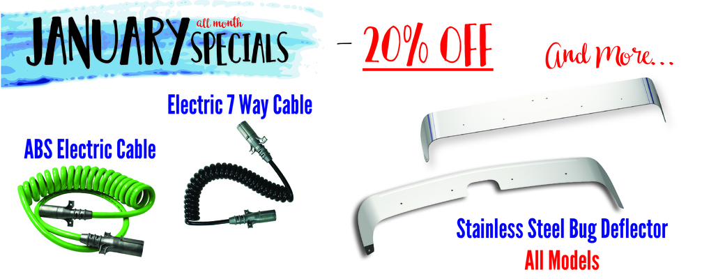 January Monthly Coupon - 20% OFF