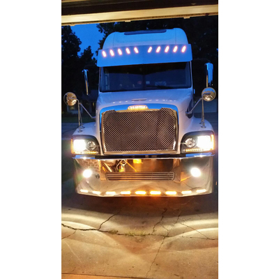 Mesh Performance Grille on Freightliner Century