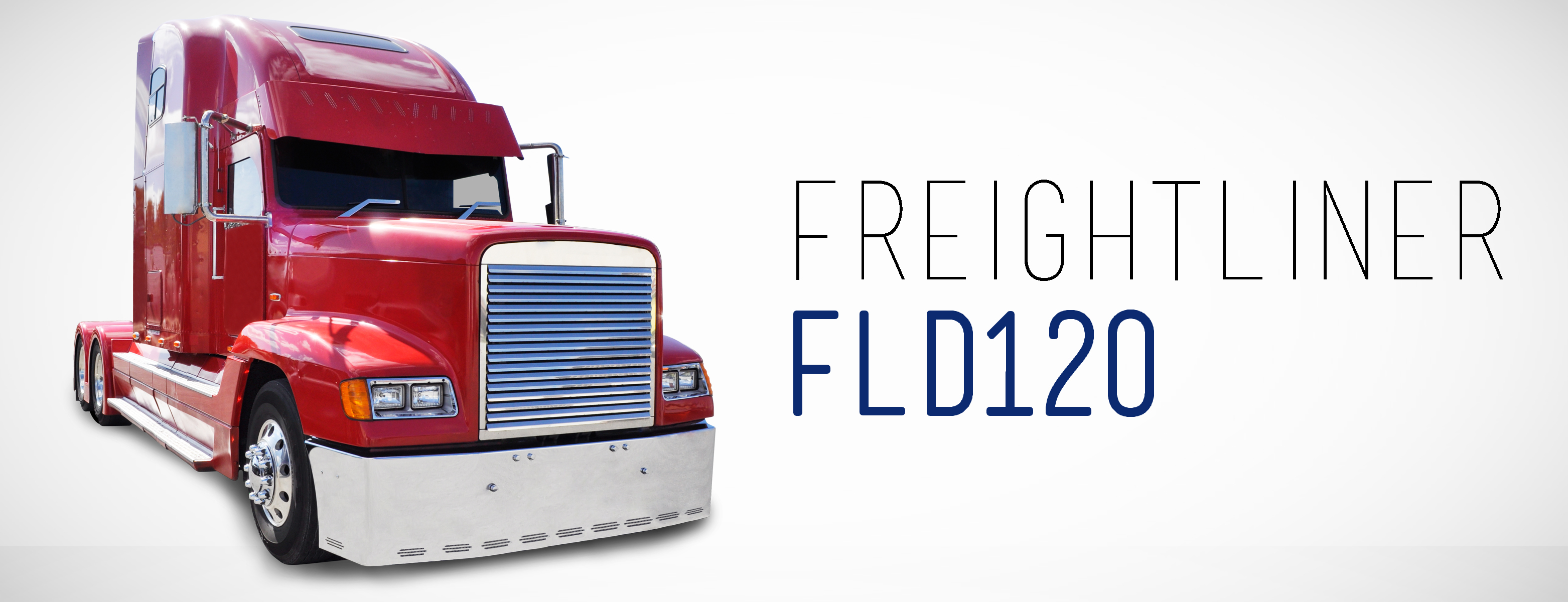 Chrome Bumpers For Fld 120 : Freightliner chrome and truck parts for sale