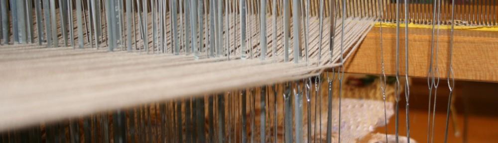 Cropped fiber loom image