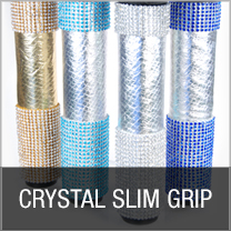 CRYSTAL SLIM GRIP MICROPHONE SLEEVES