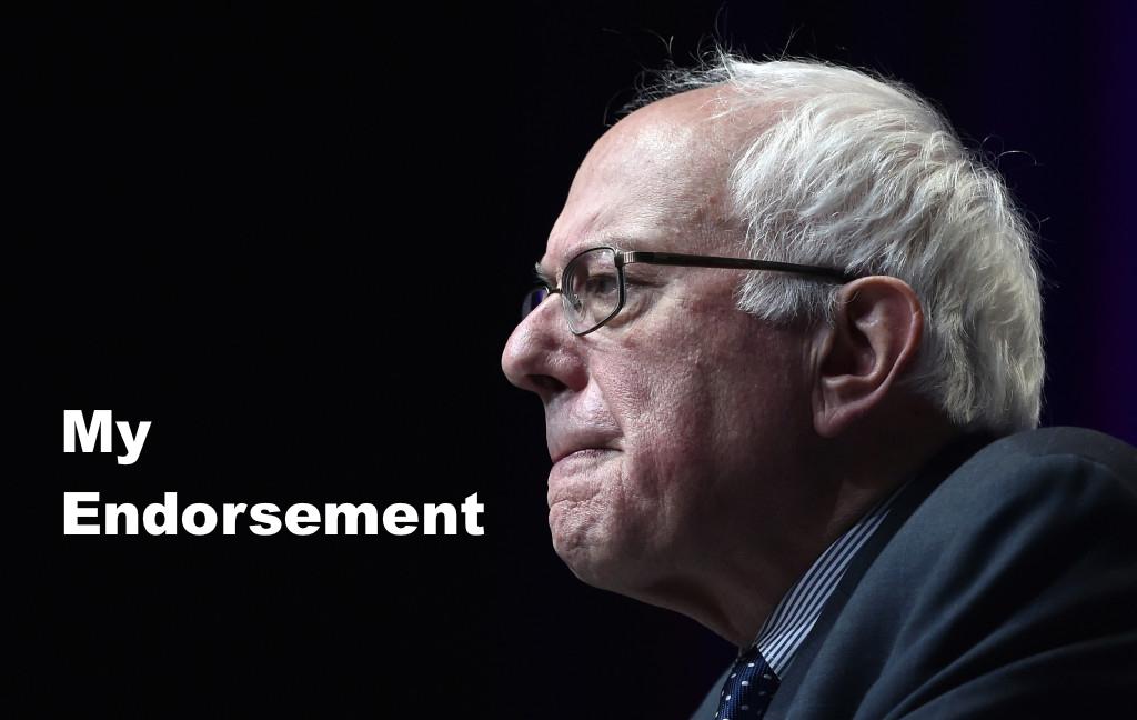 My Endorsement Of Bernie Sanders