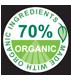 70 organic