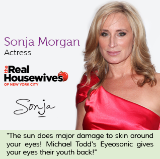Sonja Morgan eye o sonic