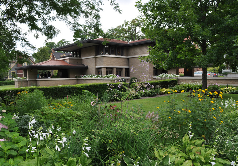 Michigan Modern – Meyer May House Floor Plan
