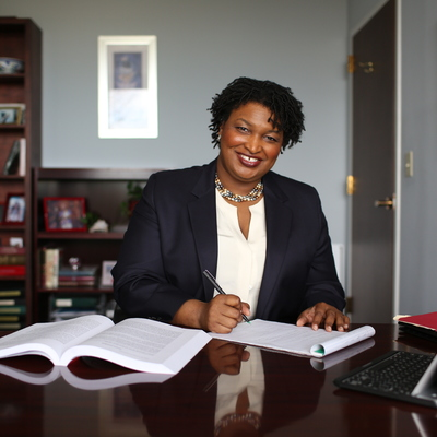 Photo of Stacey Abrams