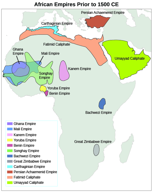 U.S. History, The Americas, Europe, and Africa Before 1492, West