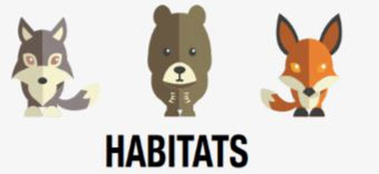 Habitats: Grade 2 (INFOhio Back to School Bag/Career Exploration)